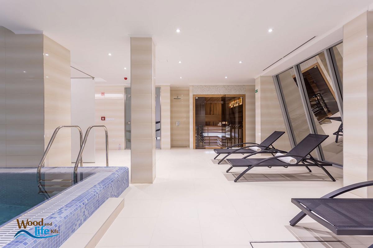 M3 hotel polgár - wellnesstér finn szaunával